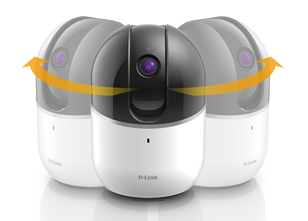 The newest D-Link 360 security camera never takes its eye off an intruder