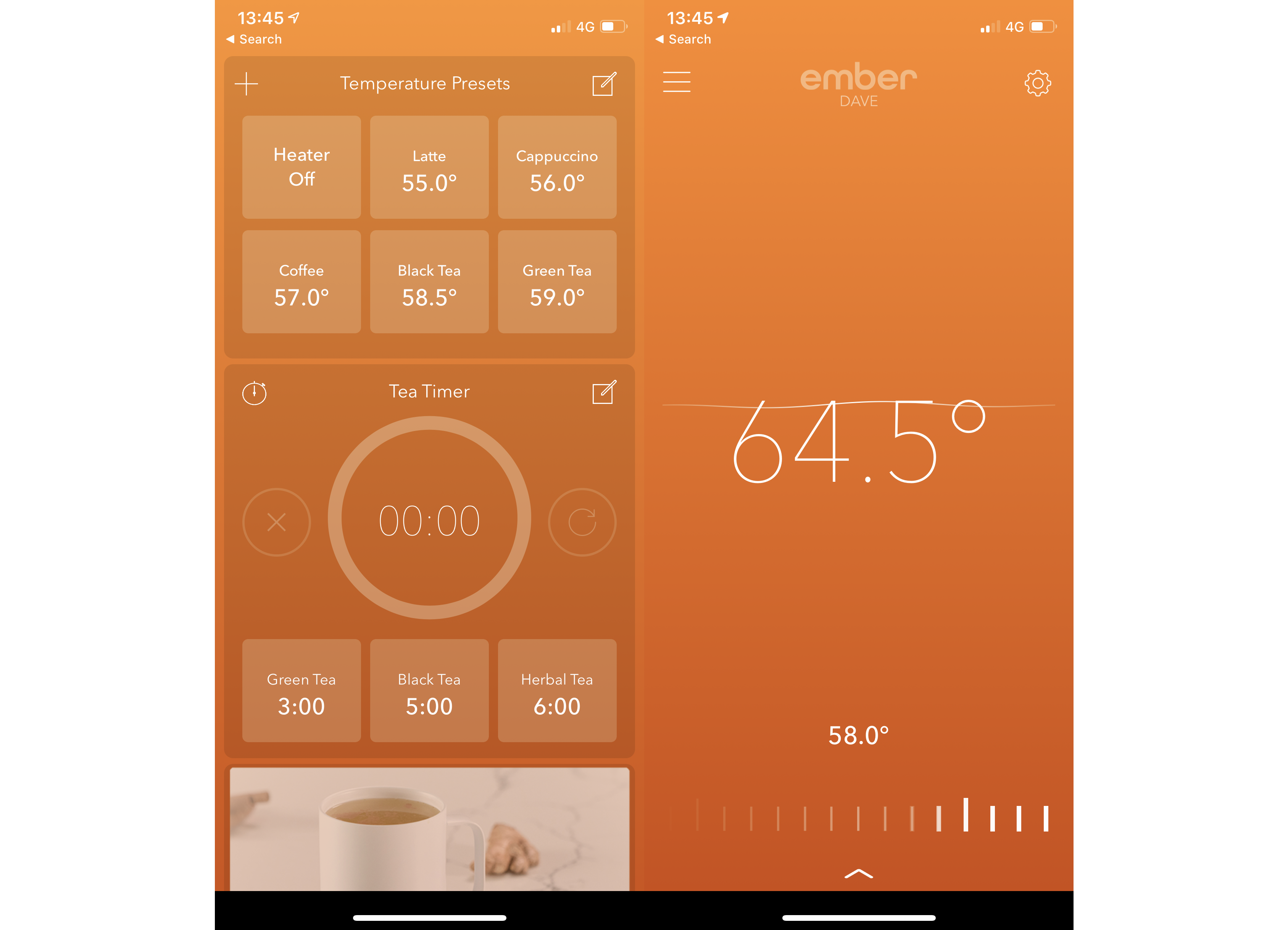 Ember Travel Mug App