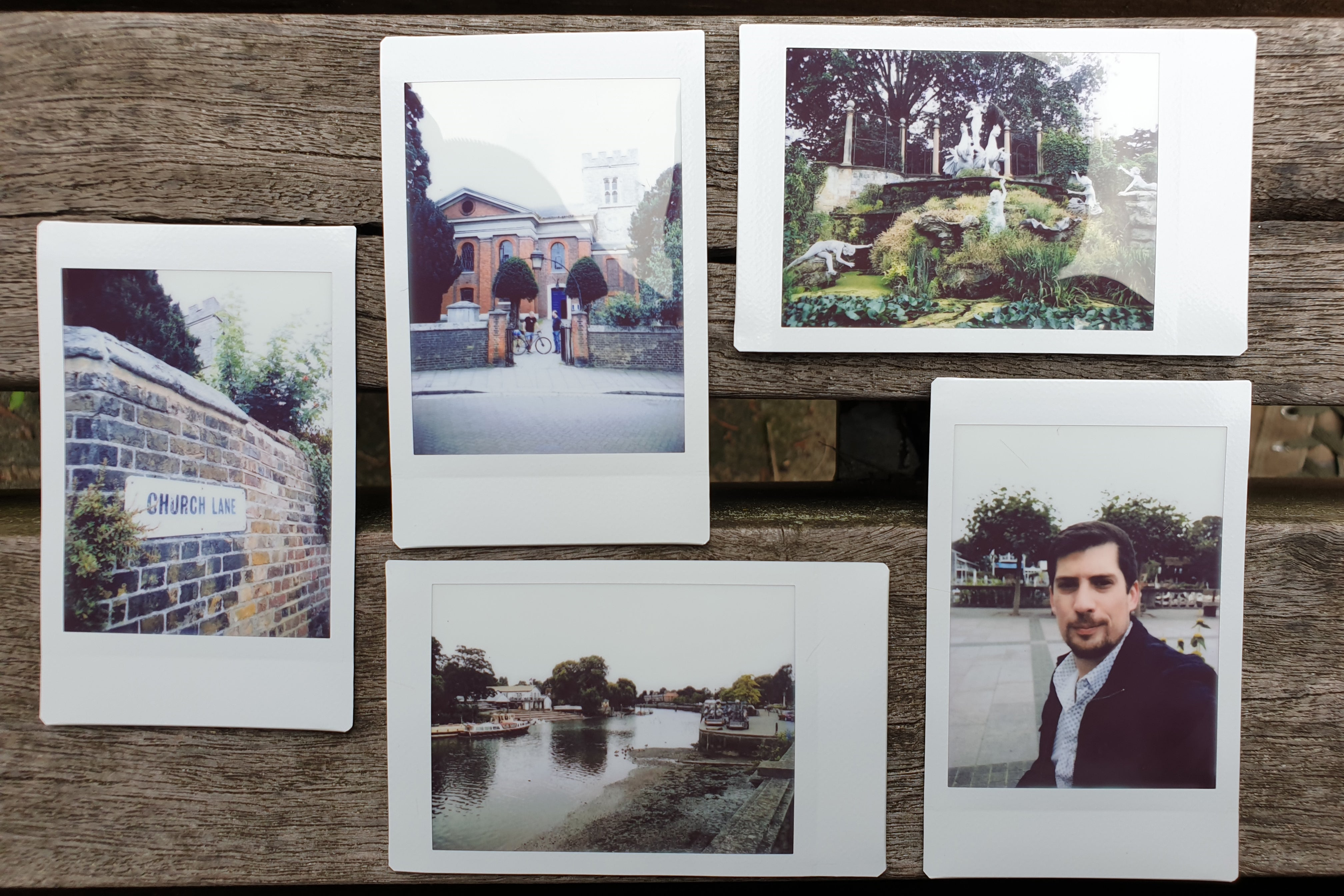 Fujifilm Instax Mini LiPlay filters washed out