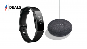 Fitbit Inspire and Google Home Mini Deal