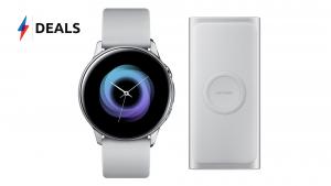Galaxy Watch Active Wireless Portable Power Bank Deal