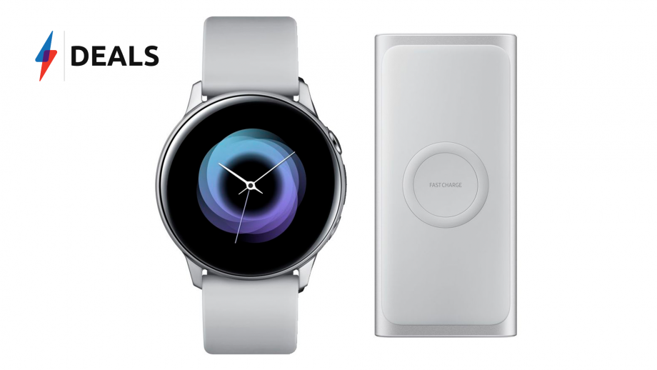 Galaxy Watch Active Wireless Portable Power Bank Deal