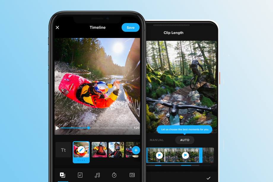 GoPro finally merges its two smartphone apps for one-stop