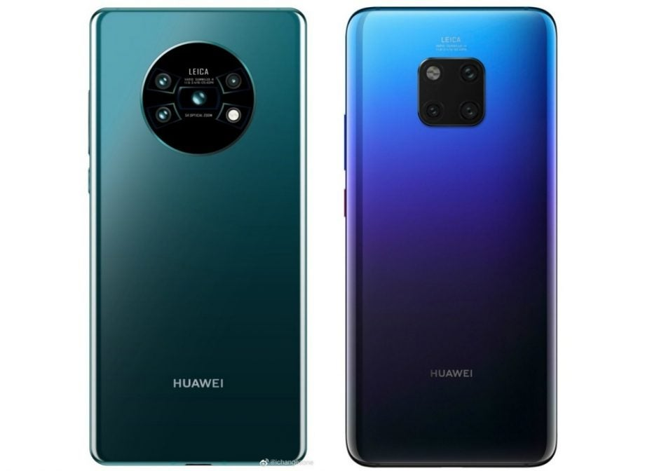 Huawei Mate 30 camera leak