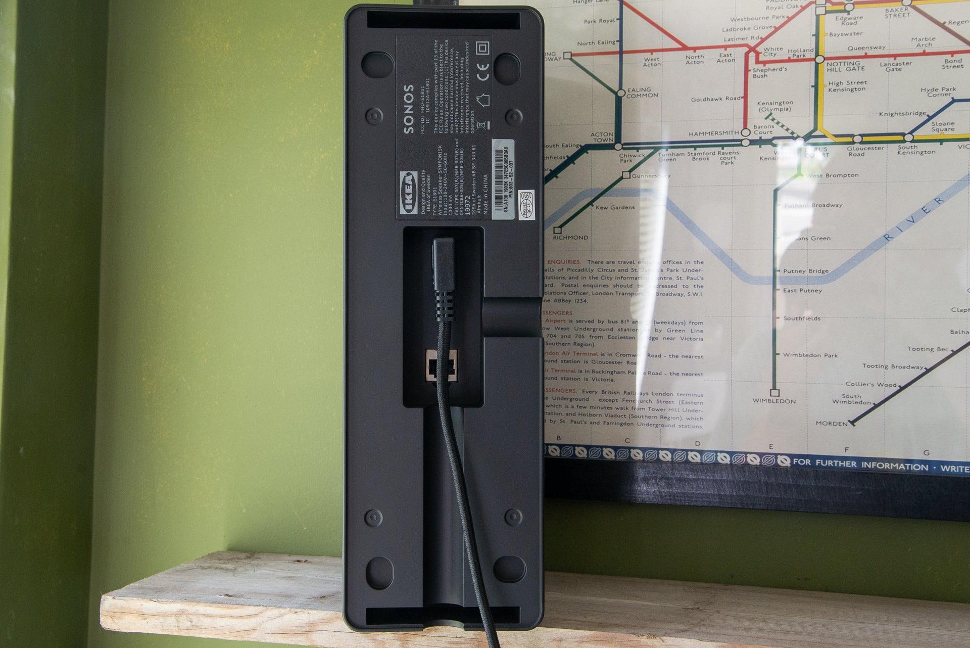 Ikea Symfonisk Bookshelf Speaker rear