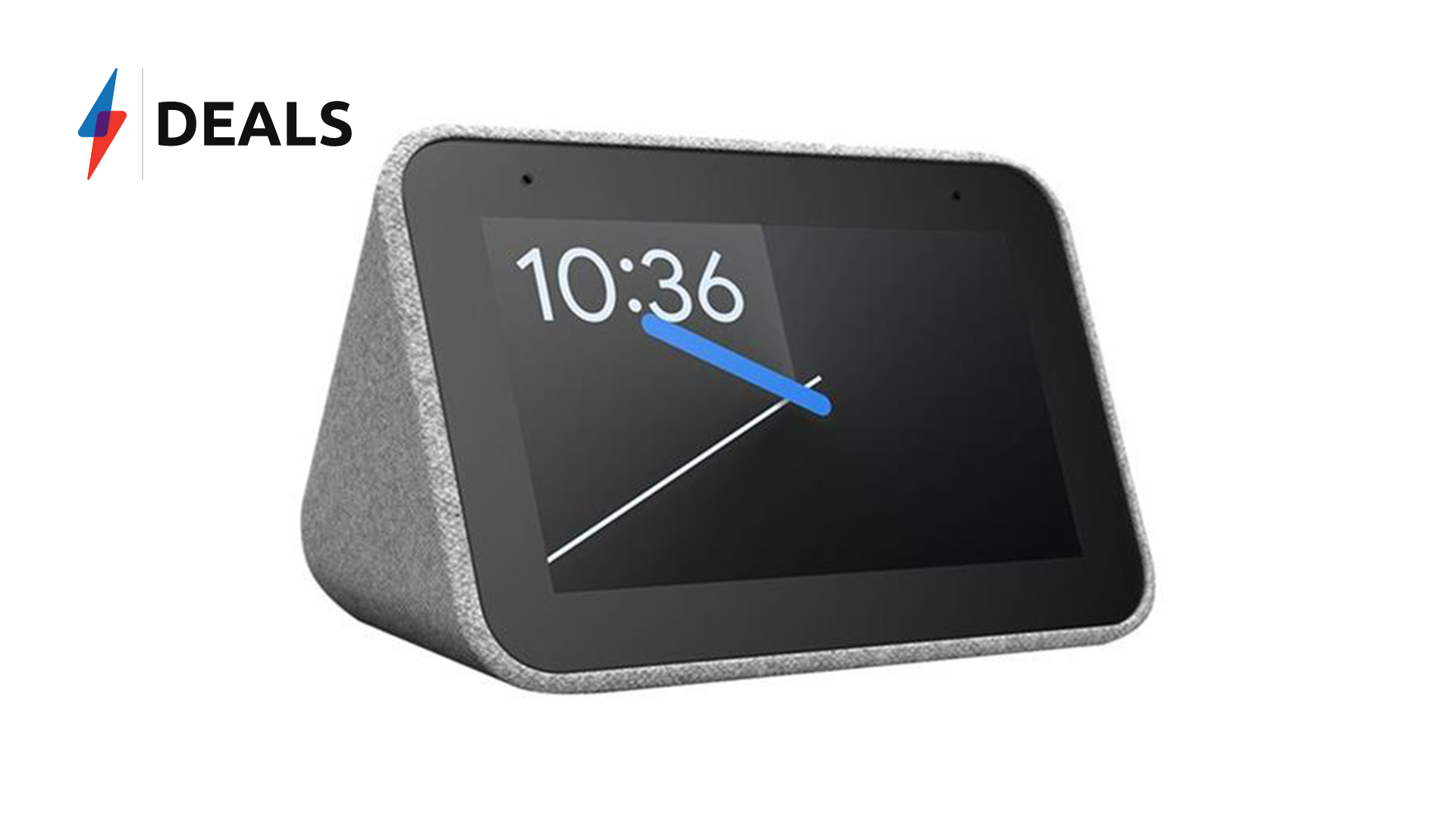 Price drop: Get the Lenovo Smart Clock with Google Assistant half price this Black Friday