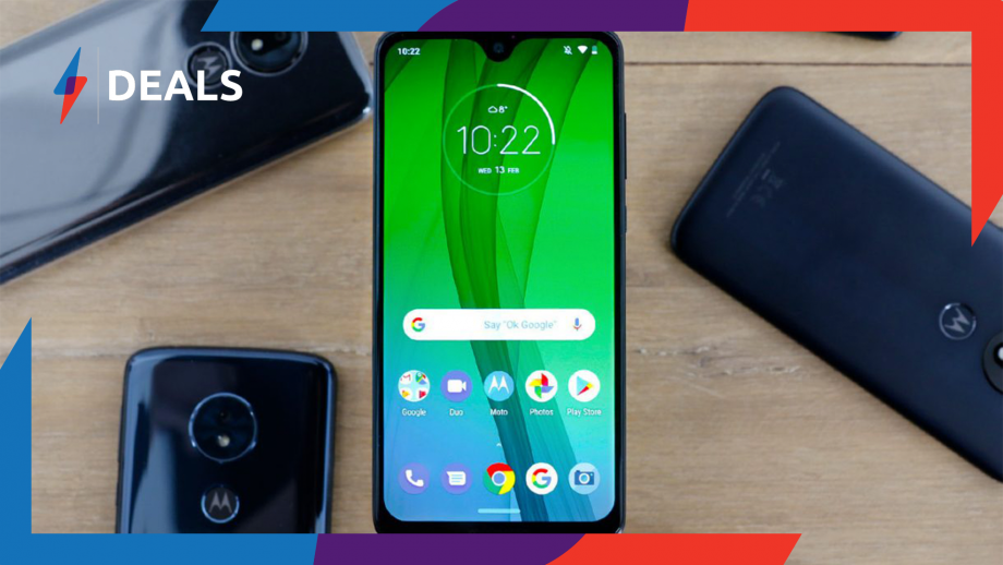 Pick up a Moto G7 for a phenomenal £179.99 on this limited time Prime Day deal