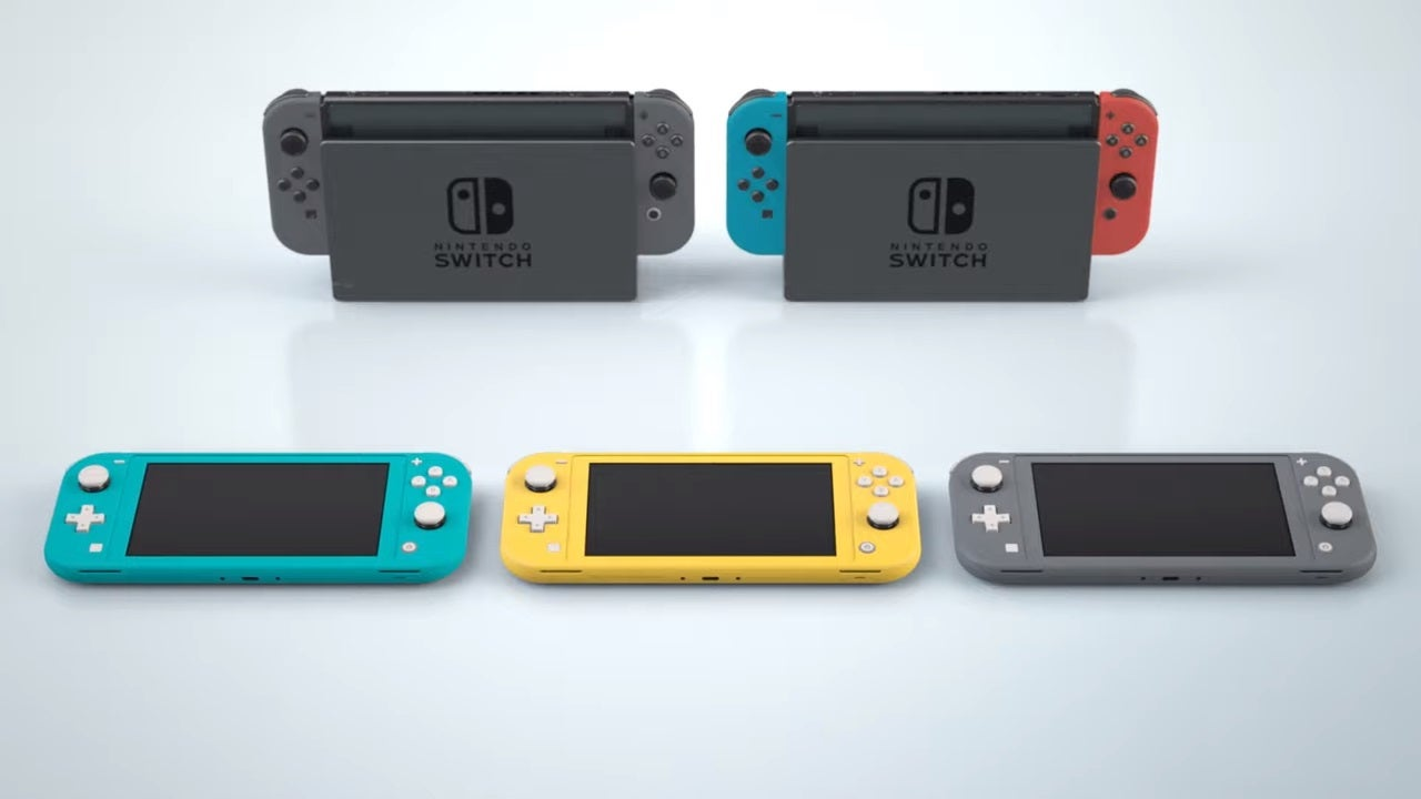 Nintendo Switch Lite Vs Nintendo Switch The Smaller The