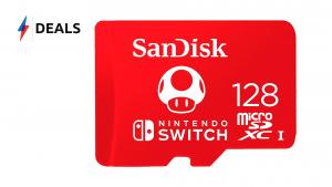 Nintendo Switch Micro SD Deal
