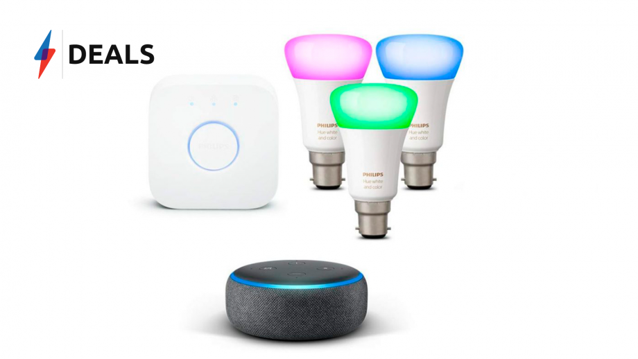 Philip Hue Echo Dot Bundle deal