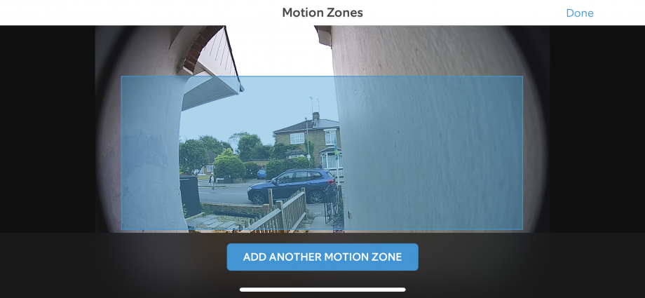 Ring Video Doorbell Pro Motion Zones