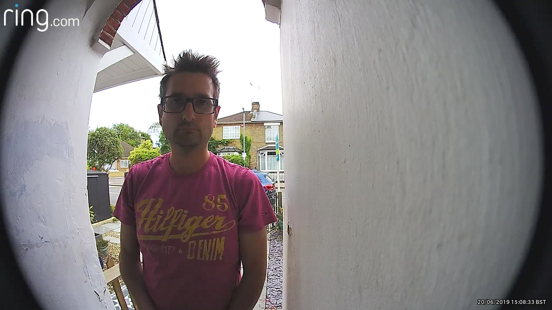 Ring Video Doorbell Pro Daytime Sample