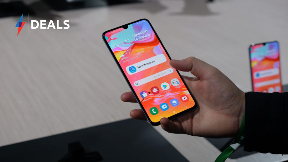 Free Phone? Unlimited Data? This Samsung Galaxy A70 Deal is Incredible!