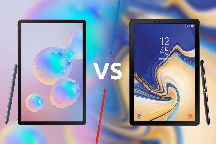 Samsung Galaxy Tab S6 vs S4