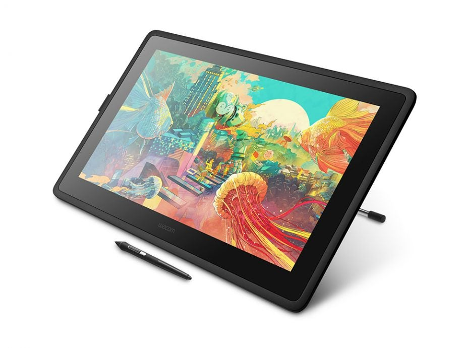 Wacom goes big with the latest addition to its entry-level pen display line