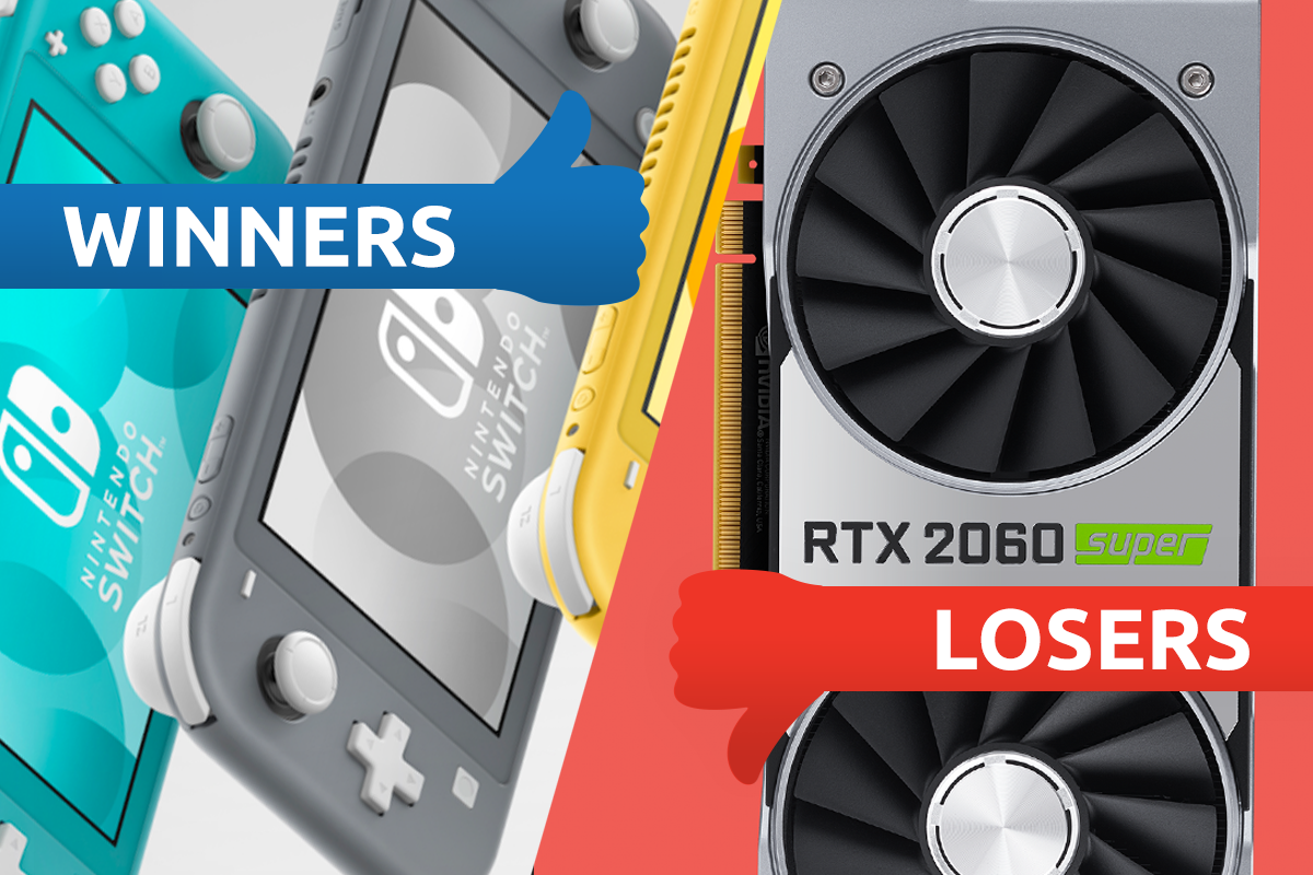 Nintendo Switch Lite delights and Nvidia's Super setback: Winners & losers