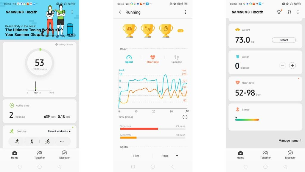 Samsung Galaxy Fit Review 9