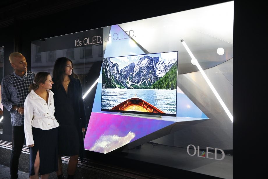Want a new TV? Then you should check out LG and Harrods new OLED experience zone