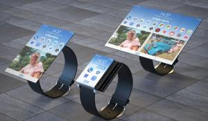 IBM folding smartwatch