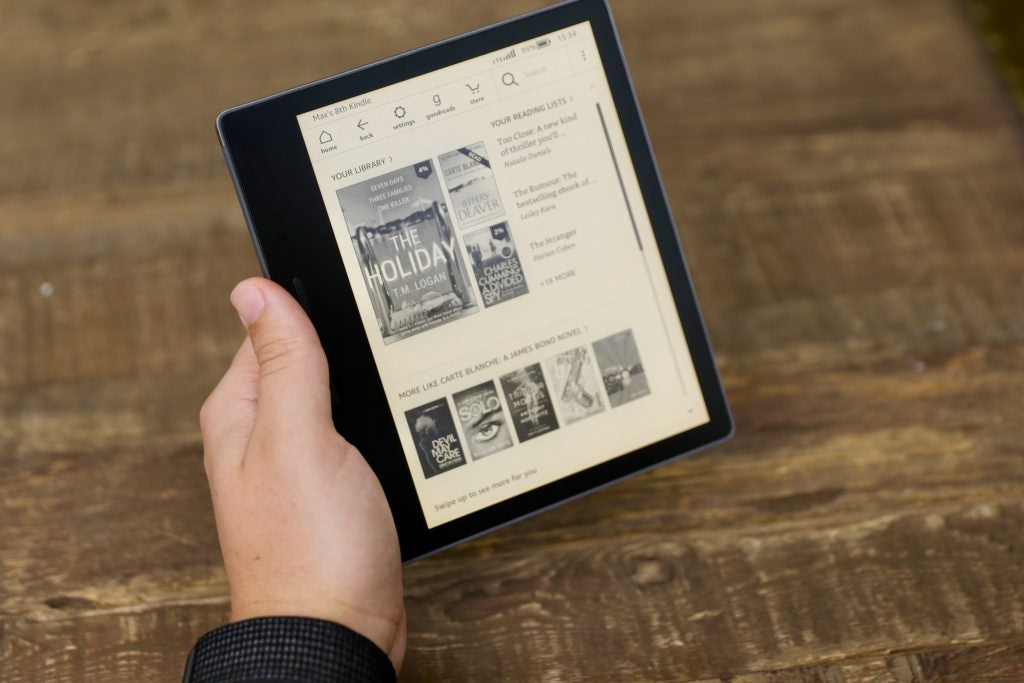 Kindle Oasis Review (2019, new version) | Trusted Reviews