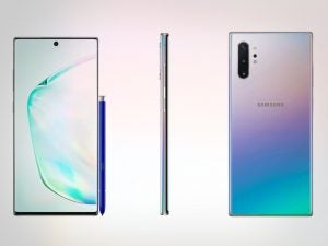 samsung galaxy note 10 plus leak