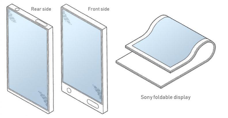 Sony Xperia foldable