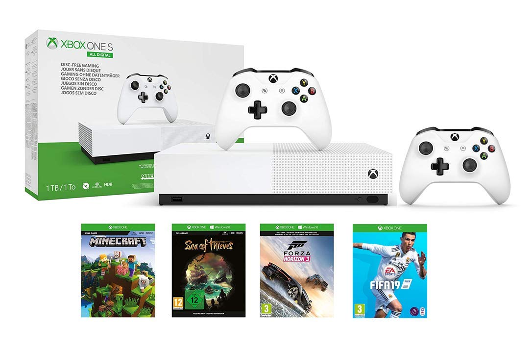 Xbox One S bundle deal gets you FIFA 19, loads more − and a