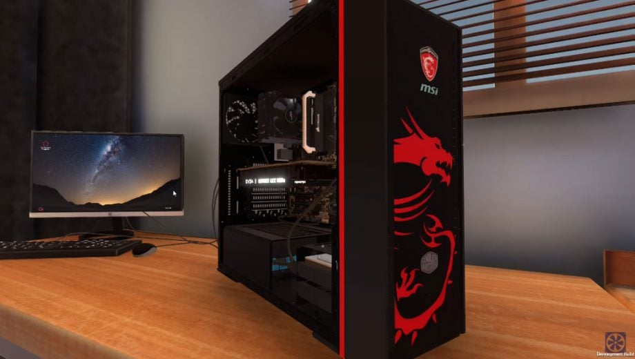 PC Building Simulator will now let you build your dream PC using your console