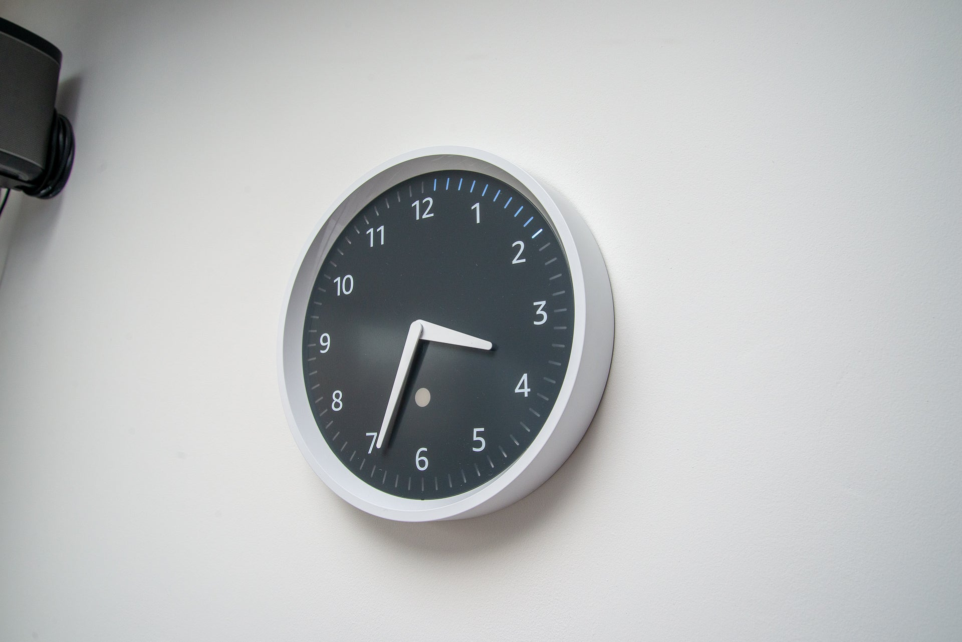 Amazon Echo wall clock with timer