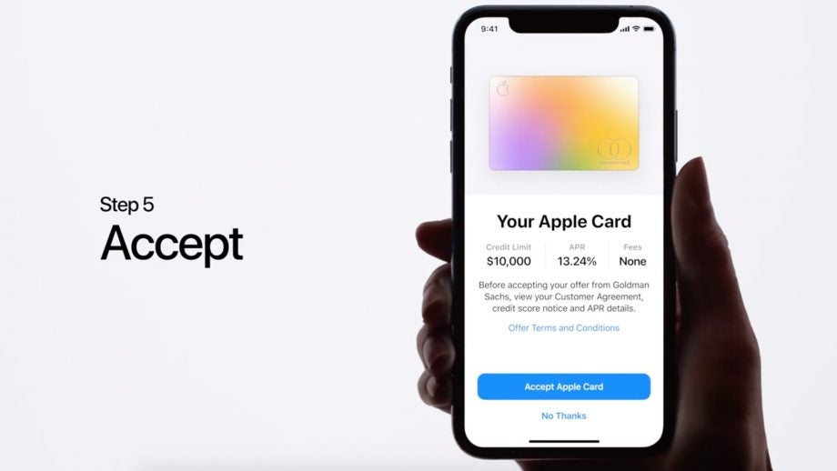 Apple Card sign up