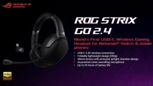 Asus ROG Strix Go 2.4 headset