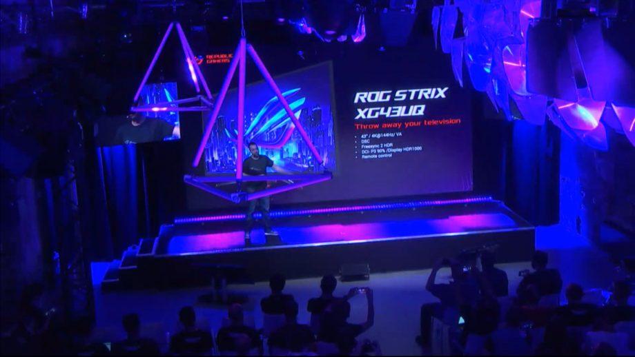 Asus ROG Strix XG43UQ reveal at Gamescom 2019