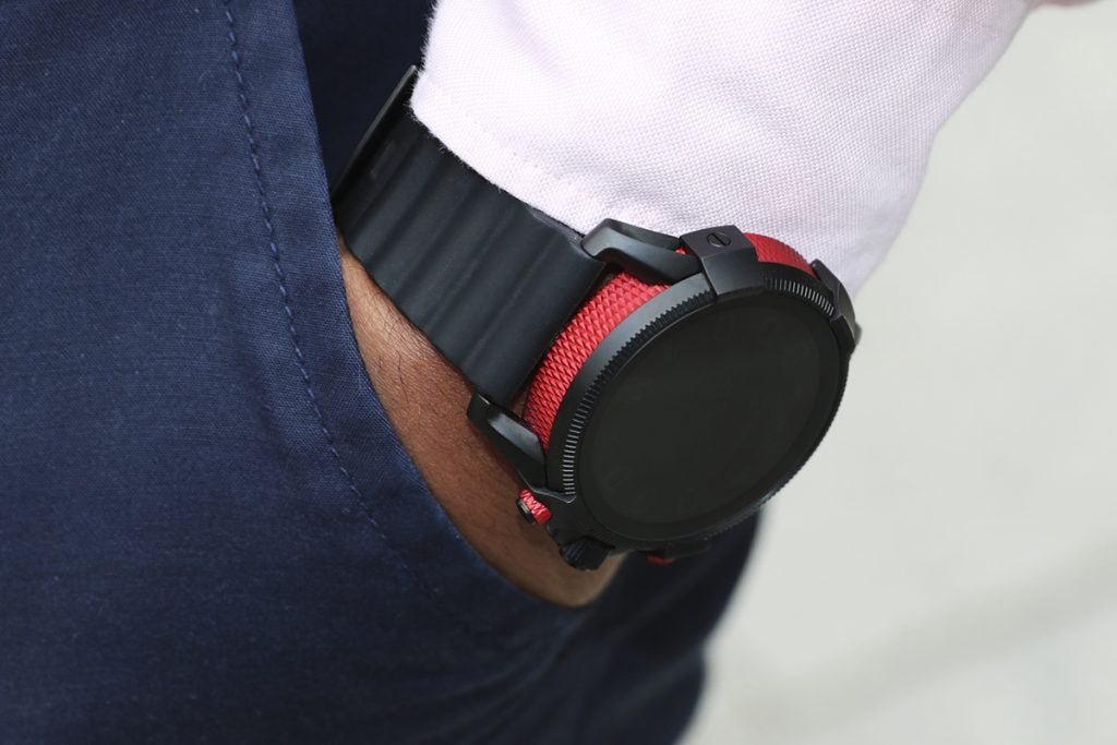 Diesel On Full Guard 2.5 on the wrist pocket