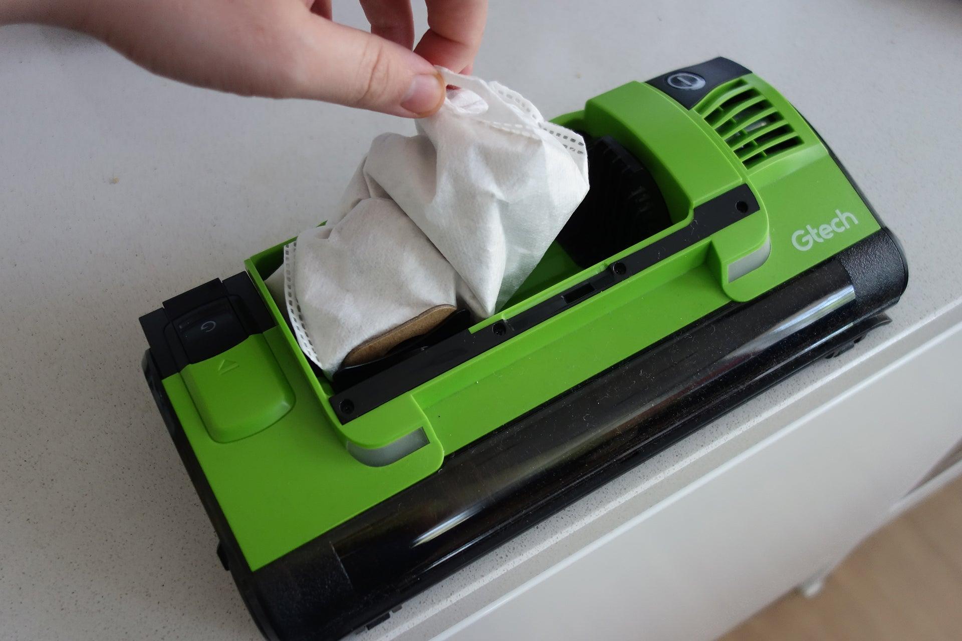 Gtech Hylite removing bag