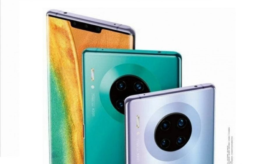 Does the Huawei Mate 30 run Android?