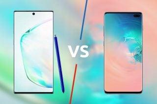 Note 10 Plus vs S10 Plus
