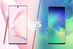 samsung galaxy Note 10 vs samsung galaxy S10