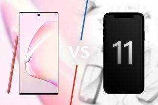 Samsung Galaxy Note 10 vs iPhone 11