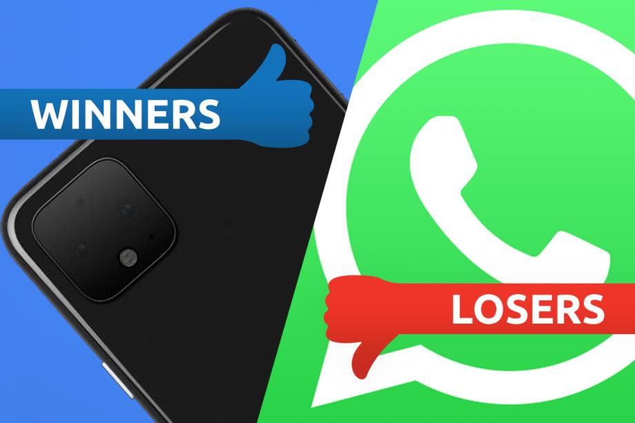 Winners and Losers Pixel vs WhatsApp