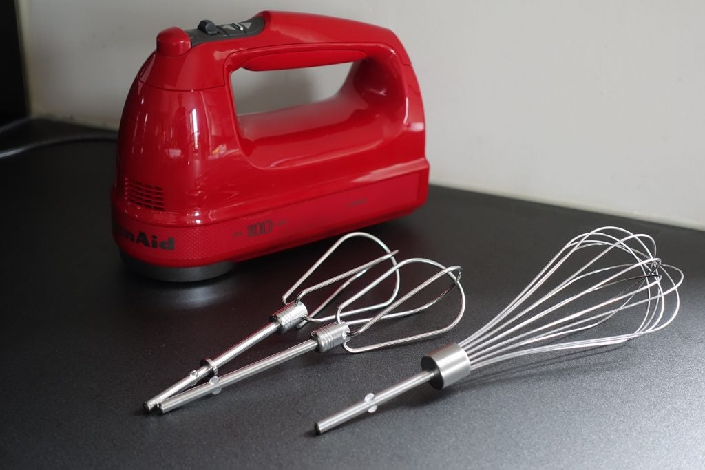 KitchenAid Queen of Hearts 7-Speed Hand Mixer Review ...