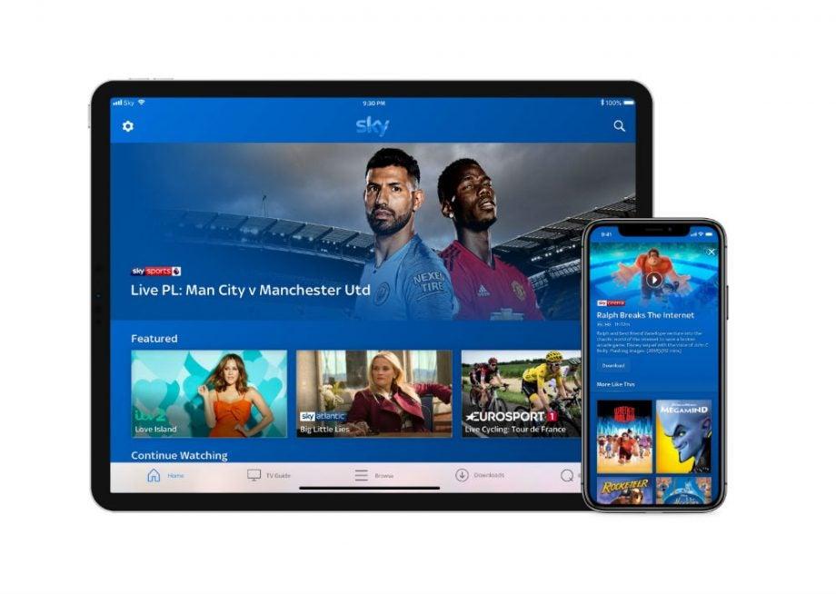 Sky Go Tablet + Phone