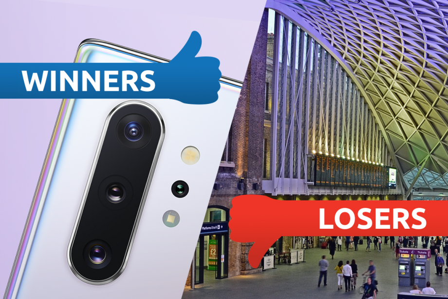 Winners and Losers: Samsung comes out swinging, King's Cross comes out scanning