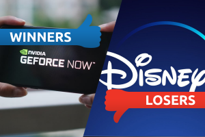 Winners Losers GeForce Now Disney Plus