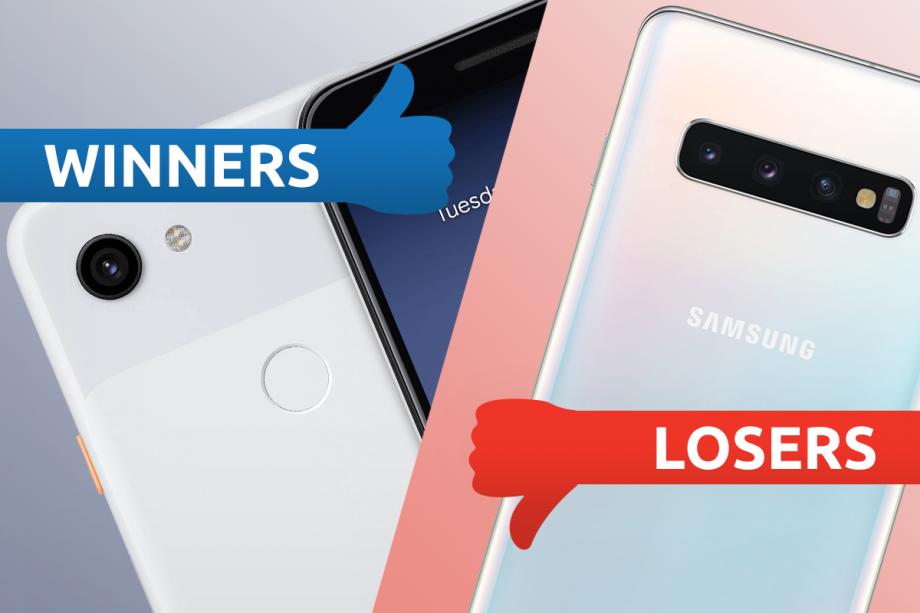 Winners Losers Pixel Samsung