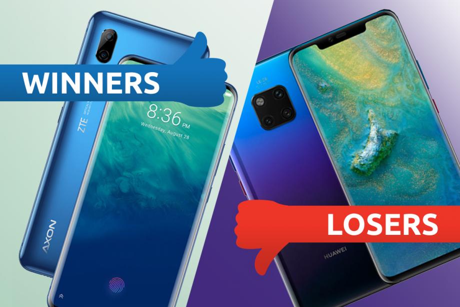 Winners Losers ZTE Huawei