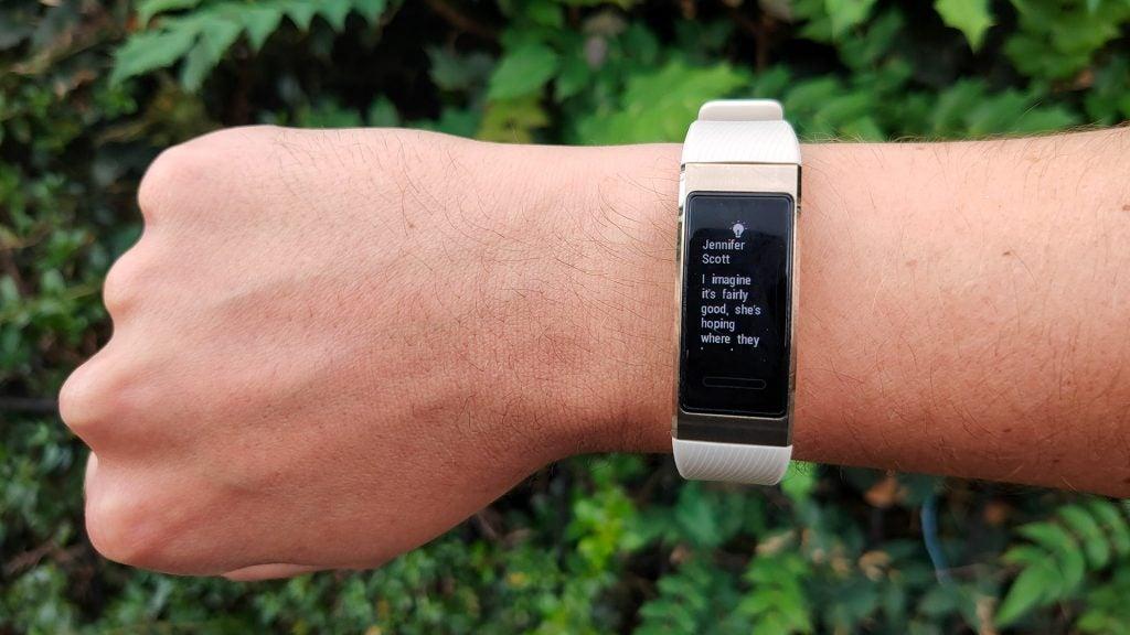 Huawei Band 3 Pro Review 12