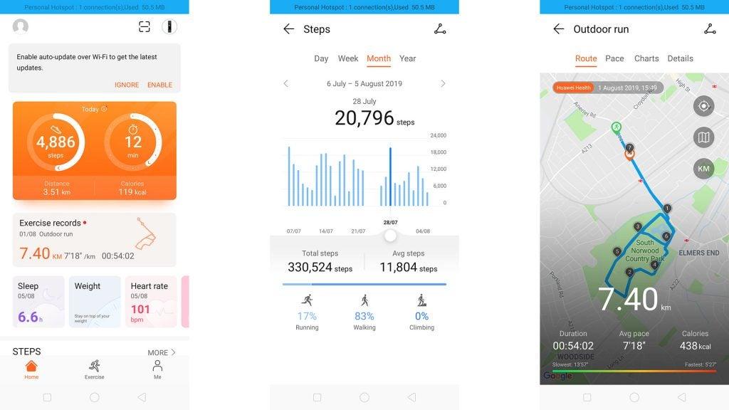 Huawei Band 3 Pro Review 9