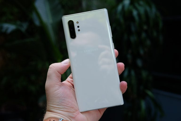 Galaxy Note 10 Plus back