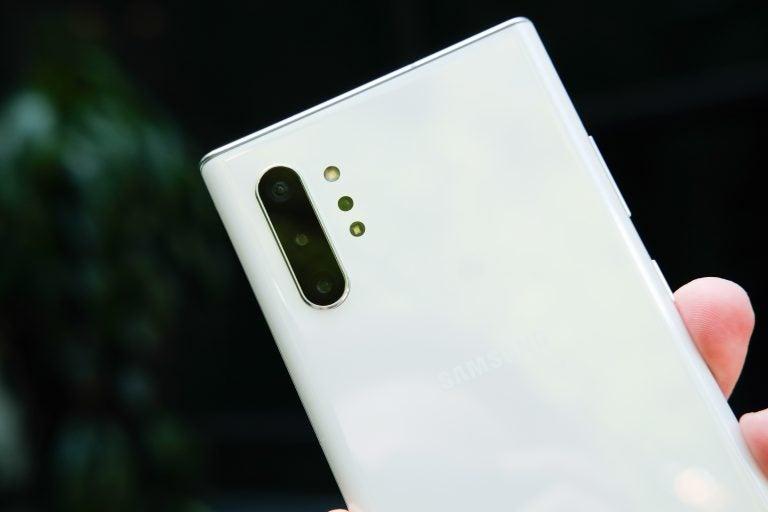 Galaxy Note 10 Plus Camera