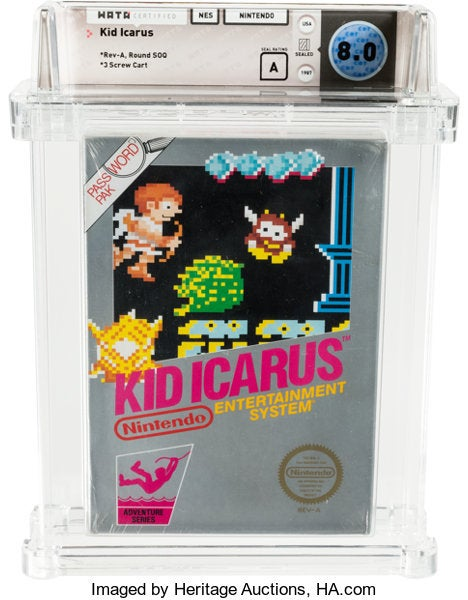 Lost copy of Kid Icarus for NES nets owner a fortune – 30 years on